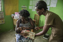 Ghana- June 2014 (mcspglobal) Tags: ghana woman mother healthworker baby breastfeeding
