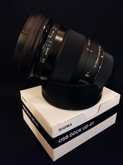 A new toy ready for action (Mikko Vuorinen) Tags: macro lens dc sigma os hsm 1770mm f284