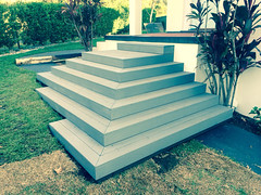 Ecodeck stair entrance