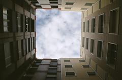 hole in the sky (adrizufe) Tags: windows sky azul clouds buildings nikon ngc edificio bluesky ventanas cielo nubes durango basquecountry thehole durangaldea nikonstunninggallery aplusphoto d7000 adrizufe adrianzubia