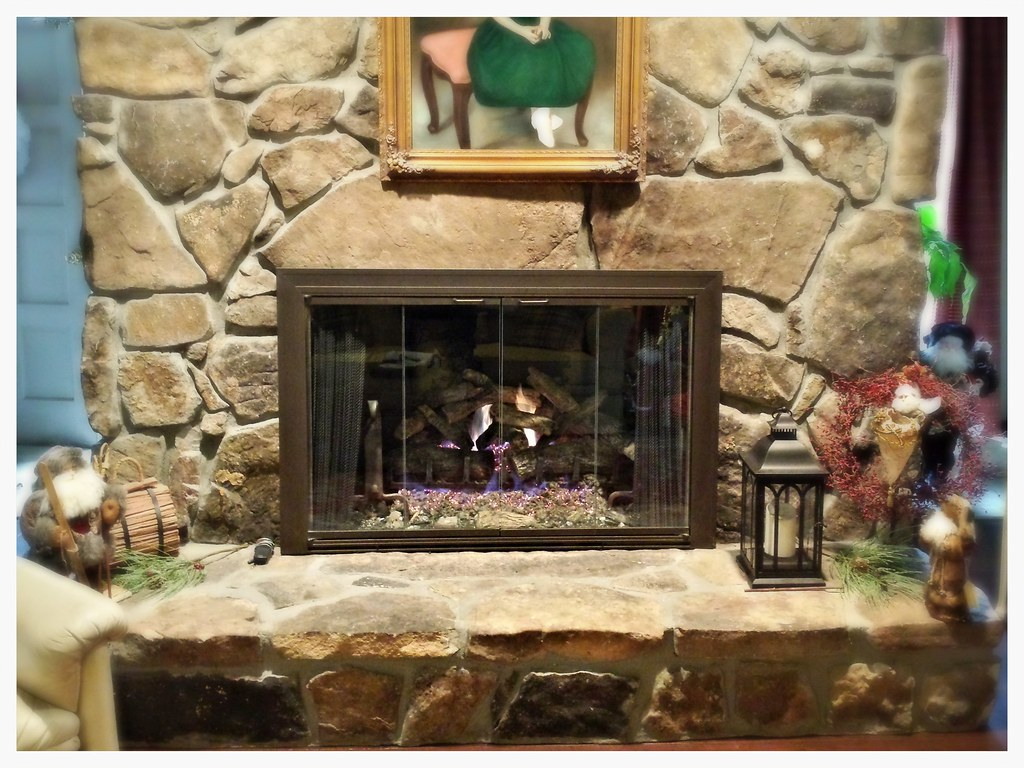 Design Specialties Savannah Glass Fireplace Doors. Chattanooga, Tn.