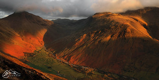 Wasdale Head from Yewbarrow