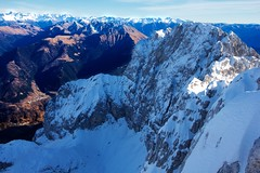 Presolana (2.521 m) (Stefano★) Tags: presolana monte pizzo montagna mountain silenzio silence natura nature outdoor trekking hiking alpinismo mountaineering alpinism alpi alps neve snow ice ghiaccio winter inverno 2016