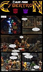 Tales From Cybertron 1 (Lazy Ass Artisan) Tags: ultra magnus elita one firestar kup crosshairs drift vibe autobot cybertron sandstorm kreo lego
