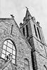 Church (davemihaly) Tags: canon canoneos canoneos3 kodak kodaktmax film bw blackandwhite circleville circlevilleoh ohio