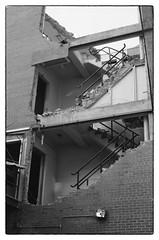 Cross Section - Washington, DC (gastwa) Tags: nikon fm2n 50mm f12 ais kodak tmax 100 film black white blackandwhite bw monocrhrome analog street urban city washington dc architecture travel scenery andrew gastwirth andrewgastwirth prime lens manual focus manualfocus
