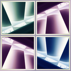 Hipstamatic Flip 'n Flop (pixelsnap) Tags: photoshopped hipstamaticapp iphonecamera verticalblinds light pixelsnap