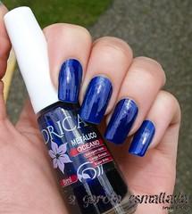 Esmalte Oceano, da Drica. (A Garota Esmaltada) Tags: agarotaesmaltada unhas esmaltes nails nailpolish azul blue drica oceano
