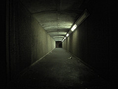 It's not so bad (cngphotographic) Tags: night nighttime subway underpass tunnel lights light trash rubbish scarey walkway menacing outside outdoor shadows raw rawtherapee linux opensource england britain urban street eastsussex eastbourne
