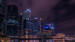 My Singapore, my home. (Gerald Ow) Tags: geraldow sony a7rii a7r2 singapore cbd central business district que thefullertonbayhotel long exposure customshouse thefullertonhotel onefullerton ilce7rm2 marina bay cliffordpier skyline fe 1635mm f4 za oss night photography flickr