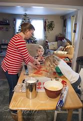 Cookies for Santa (grilljam) Tags: cookiesforsanta christmaseve winter december2016 redcookies ewan 7yrs seamus 4yrs