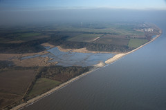 Benacre Broad after the storms (John D F) Tags: benacrebroad suffolk naturereserve broad coastline coast coastal britainfromabove britainfromtheair hirez hires highresolution droneview viewfromplane aerial aerialphotography aerialimage aerialphotograph aerialimagesuk aerialview