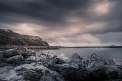 Gelliswick Bay (garethleethomas) Tags: epic moody seascape home fort sea shore shoreline beach view wales pembrokeshire uk canon cloud rock formation door sky stormy outdoor weather
