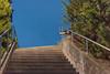 Train Station Stairs 1 (pni) Tags: quiet this sky vegetation concrete metal rail steps stairs karis karjaa finland suomi pekkanikrus skrubu pni