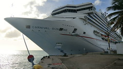 CARNIVAL SUNSHINE - a beautiful Cruise Ship @ Aruba