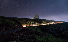 Telescopio Nazionale GALILEO (free3yourmind) Tags: telescopionazionalegalileo gallileo telescope night stars nightsky road car passing lights canary islands spain roquedelosmuchachos