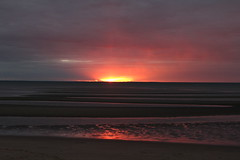 Campground Beach Sunset (robincagey) Tags: cape cod massachusetts new england winter january cold campground beach sunset nature beauty bay beautiful
