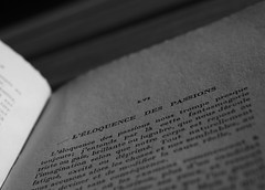 La passion est encore ce qui aide le mieux à vivre... (NUMERIK33) Tags: livre book passion philosophie explore numerik33 papier grain écriture texte encre paper lettres letters