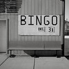 Bingo, Washtucna, Washington (austin granger) Tags: bingo washtucna washington sign newyearseve bench sidewalk palouse winter square film gf670