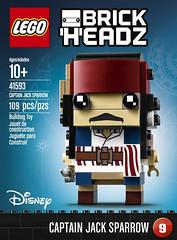 LEGO BrickHeadz 41593 Captain Jack Sparrow box (hello_bricks) Tags: toyfair toy toys lego brickheadz jacksparrow salazar pirates pirate piratesdescaraibes piratesofthecarribean potc