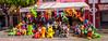 2016 - Mexico - Querétaro - Blow up Mayhem (Ted's photos - For Me & You) Tags: 2016 cropped mexico queretaro santiagodequeretaro tedmcgrath tedsphotos tedsphotosmexico vignetting nikon nikonfx nikond750 colorful colourful flags streetscene