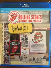 Stones at Roundhay, Leeds, 1982 (Eleventh Earl) Tags: rolling stones jagger ronnie wood keith richards bill wyman charlie watts leeds yorkshire roundhay park july 1982 mick blu ray video live music performance gig show start me up rock pop blues telecaster steinberger