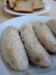 Rice noodle roll (MelindaChan ^..^) Tags: srilanka 斯里蘭卡 ricenoodleroll rice noodle roll breakfast chanmelmel mel melinda yummy melindachan food eat meal sweet snack