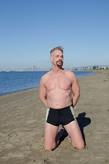 Me At The Beach (dannydavisphoto) Tags: beach beefcake
