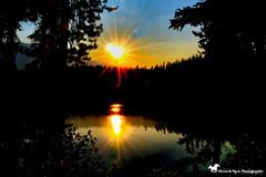 TWILIGHT SHIMMERS (Aspenbreeze) Tags: alberta canada river sunset twilight dusk sundown sun reflection nature rural landscape waterscape bevzuerlein aspenbreeze moonandbackphotography