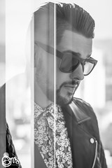 Juan AT Portrait 2017_04 (iamgns) Tags: man style hipster hombre gente monocromático blackandwhite photography photographer nikon 50mm18 retrato