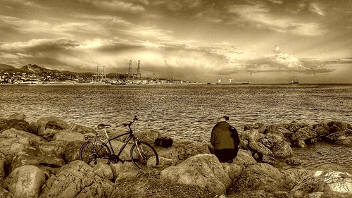 Playa de la Misericordia.Malaga.