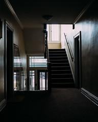 The Same Eyes (DaneMakes) Tags: mn staircase shadow light rimlight harsh fuji xpro2 xproii fujifilm 35mm 23mm f14
