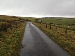 Photo of Another hill top, wet and windy