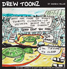 20.28 Drew Toonz Hookipa Turtle Nap with Tourists (mauitimeweekly) Tags: 2028drewtoonz drewtoonz hookipa beach greenseaturtle ocean turtle nap tourists