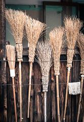 Chores (campra) Tags: japan buddhist zen kindergarten nagasaki broom teramachi kotaiji