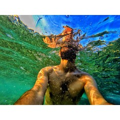 When the water is clear... #GoProOfTheDay #GoProHero #GoPro #Body #Beard (Waelboy) Tags: square squareformat iphoneography instagramapp uploaded:by=instagram