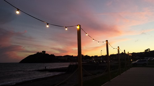 Sunset in Criccieth