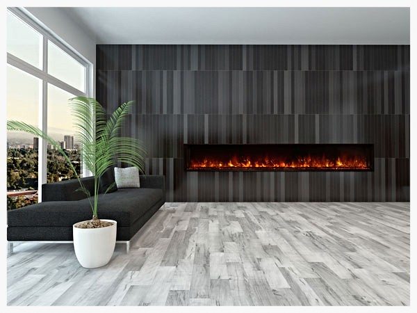Modernflame LFV100 linear electric fireplace