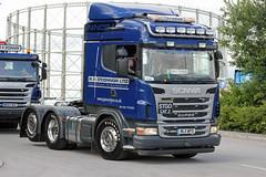 TV011202-Manchester. (day 192) Tags: truck wagon manchester lorry scania lorries truckshow transportshow manchestercityfootballclub transportrally etihadstadium g480 ppoconnor scaniag480 ml11wpo greatnorthwesttruckshow