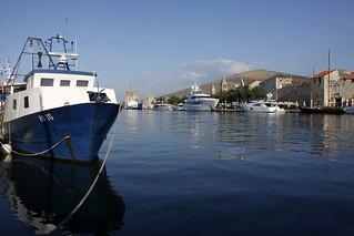 Sundet mellom Otok Čiovo og Trogir