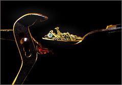 41/52 : Surreal : Metallic food (Hervé Marchand) Tags: food screw metallic surreal spoon vis pliers tenaille 52weeksthe2015edition week412015 weekstartingthursdayoctober82015