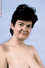 Libby (jgabby7) Tags: portrait studio glamour mature topless shorthair busty bruntte