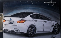 P_20151021_165701 (www.omerkoc) Tags: auto cars car sketch automobile drawing bmw vehicle m3 desing karakalem tasarım blackpencil omerkocdesigner çizimömerkocömerkoc