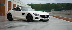 AMG GT on track (nickolaiportnyagin) Tags: car mercedes track russia gt amg reddotproduction