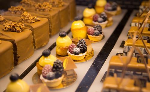Sweets, Café Central, Vienna, Austria
