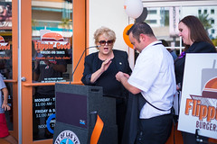 20151008-FlippinGood-07 (clvpio) Tags: vegas october downtown mayor lasvegas good burger event opening flipping goodman 2015