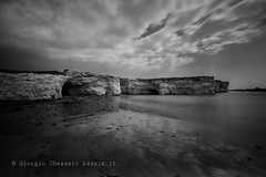 Cave Accommodation By The Sea (Giorgio Chessari) Tags: from seascape nikon long exposure italia sicily nikkor sicilia giorgio d810 500px 1424mm santamariadelfocallo chessari