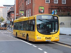 trent barton 748 Nottingham (Guy Arab UF) Tags: street nottingham bus buses eclipse volvo group trent barton wright milton 748 b7rle wellglade wellgladegroup fj09xpg