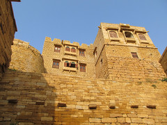 "Fort de Jaisalmer <a style=""margin-left:10px; font-size:0.8em;"" href=""http://www.flickr.com/photos/127723101@N04/22201986289/"" target=""_blank"">@flickr</a>"