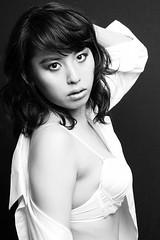 Ayane Shirt in Dark_0004 (Tsubasa_Japan) Tags: ladies portrait people cute sexy girl beautiful beauty face fashion japan lady female angel asian japanese tokyo model women pretty young charm lovely  tsubasa  topmodel